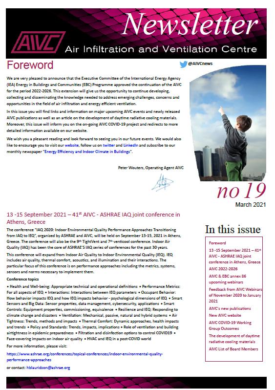 AIVC Newsletter, March 2021